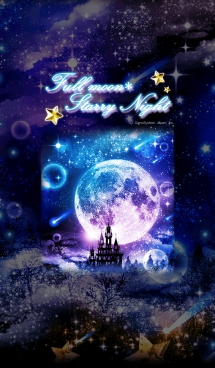 Full moon*Starry Night 画像(1)