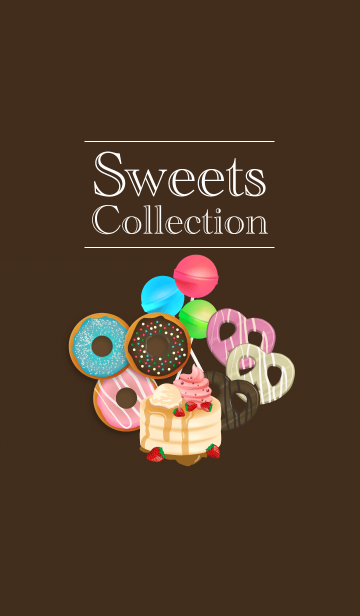 [LINE着せかえ] sweets collectionの画像