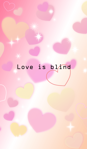 Love is blindの画像(表紙)