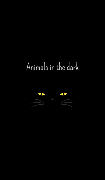 Animals in the darkの画像(表紙)