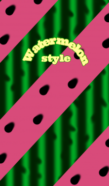 Watermelon style ( すいか ) 画像(1)