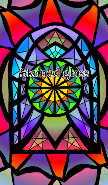 Like a stained glass 画像(1)