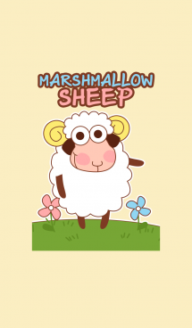 Marshmallow Sheep Theme 画像(1)