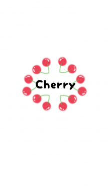 Pink&Red Cherry 画像(1)
