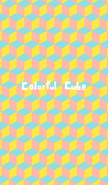 colorful cube 画像(1)