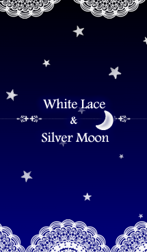 White Lace & Silver Moon 画像(1)