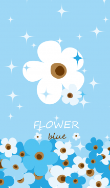 Powerful Blue Flowers 画像(1)