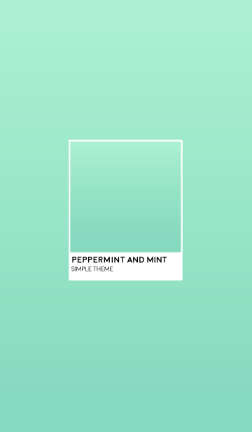 Peppermint and Mintの画像(表紙)