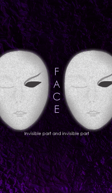FACE ~Invisible part and invisible part~の画像(表紙)