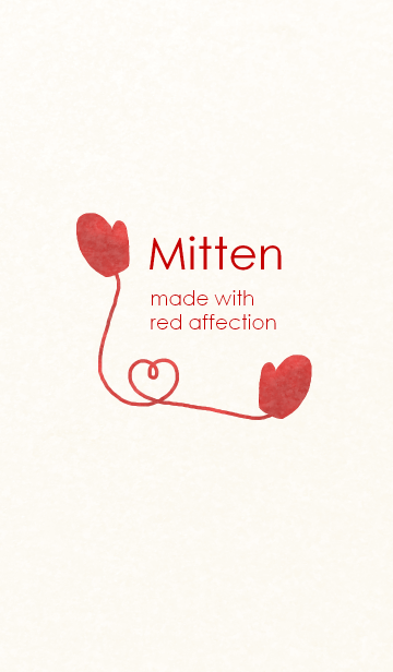 Mitten made with red affectionの画像(表紙)