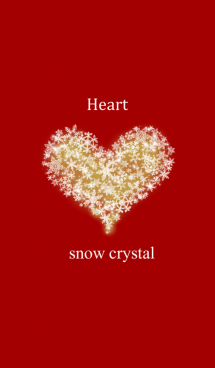 Heart of the snow crystal red ver. 画像(1)