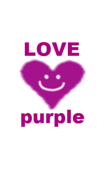 LOVE Purple colorの画像(表紙)