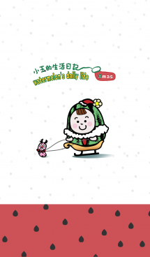 watermelon's daily life - Xmas 画像(1)