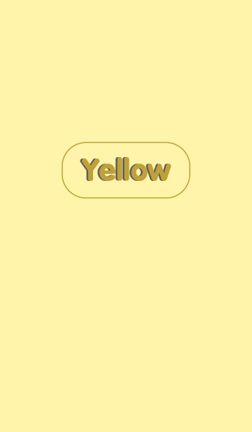 Simple Yellow Button themeの画像(表紙)