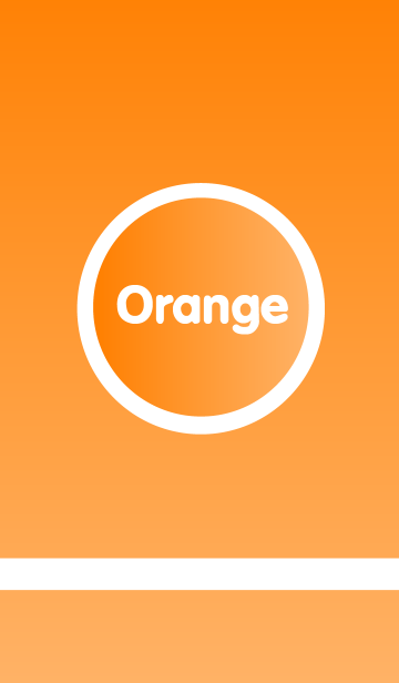 Simple Orange themeの画像(表紙)