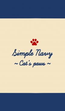 Simple Navy ~Cat's paws~ 画像(1)
