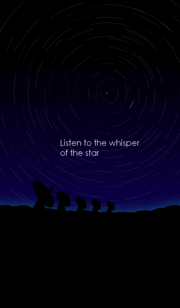 Listen to the whisper of the starの画像(表紙)