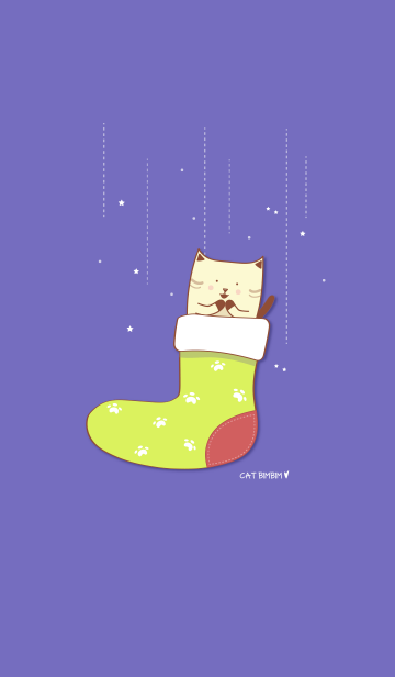 Cat Bimbim in a sock!の画像(表紙)