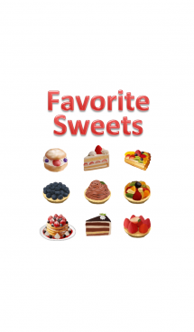 Favorite Sweets 画像(1)
