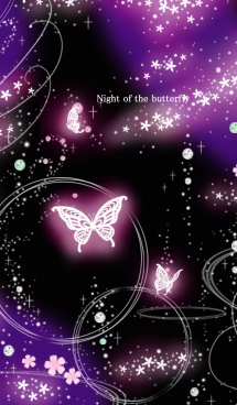 Night of the butterfly. 画像(1)