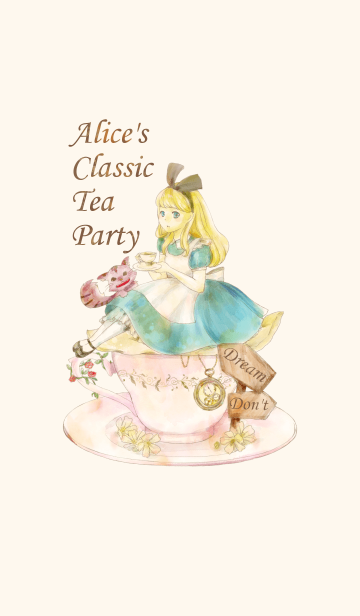 [LINE着せかえ] Alice's Classic Tea Partyの画像
