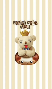 Little king bear 画像(1)