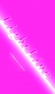 Light Line (Pink And White)
