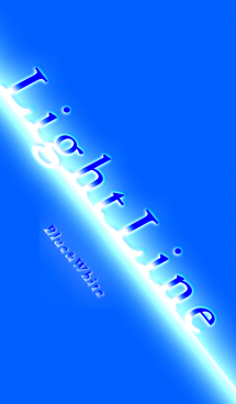 Light Line (Blue And White)