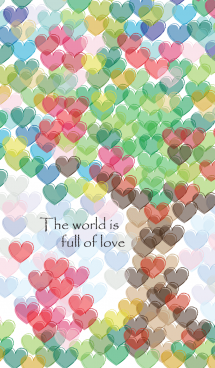 The world is full of love