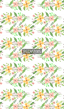 water color flowers_89 画像(1)