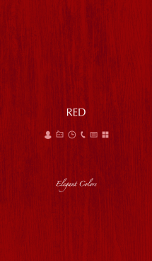 Elegant Colors -RED- 画像(1)