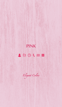 Elegant Colors -PINK- 画像(1)