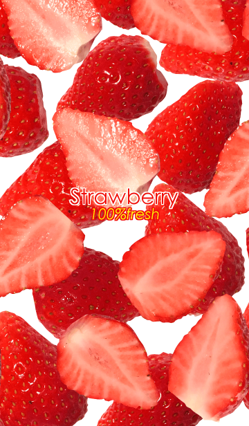 Strawberry 100% freshの画像(表紙)