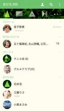triangle forest-green- 画像(2)