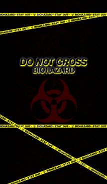 DO NOT CROSS-BIOHARD- 画像(1)
