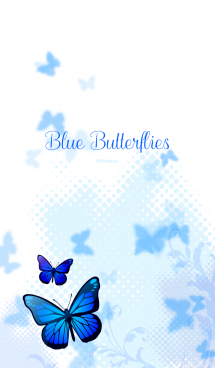 Blue Butterflies 画像(1)