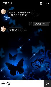 Butterfly at Night 画像(3)