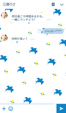 Swallow pattern 画像(3)
