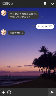 Sunset is the beginning of the night 画像(3)
