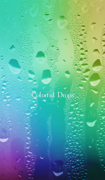 Colorful Drops 画像(1)