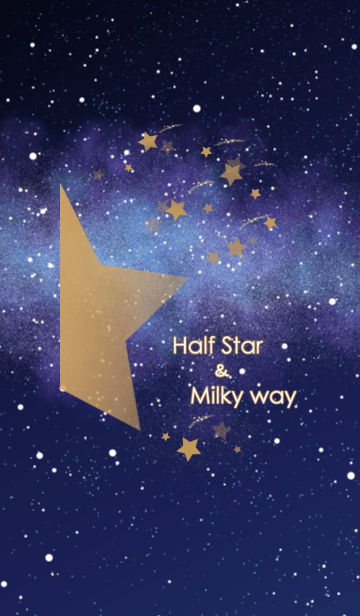Half Star Milky way Right ver.の画像(表紙)