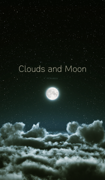 Clouds and Moon 画像(1)