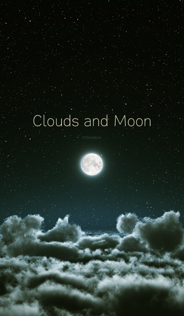 Clouds and Moonの画像(表紙)