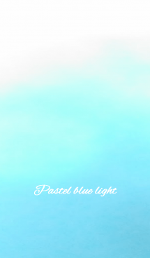 Pastel blue light 画像(1)