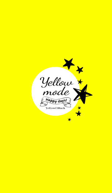 Yellow mode black ver.の画像(表紙)