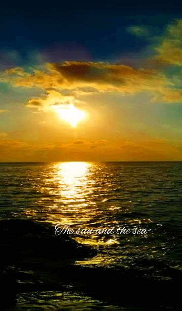 The sun and the seaの画像(表紙)