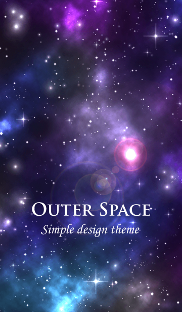 - Outer Space -の画像(表紙)