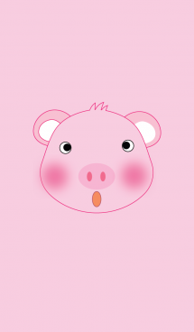 Cute pig theme v.4 (JP) 画像(1)