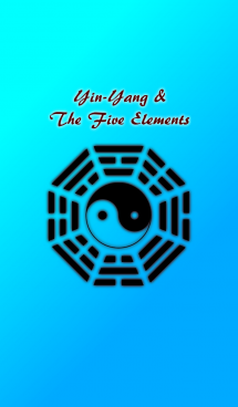 Yin-Yang and the five elements-Sky Blue 画像(1)