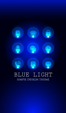大人の BLUE LIGHT THEME 画像(1)